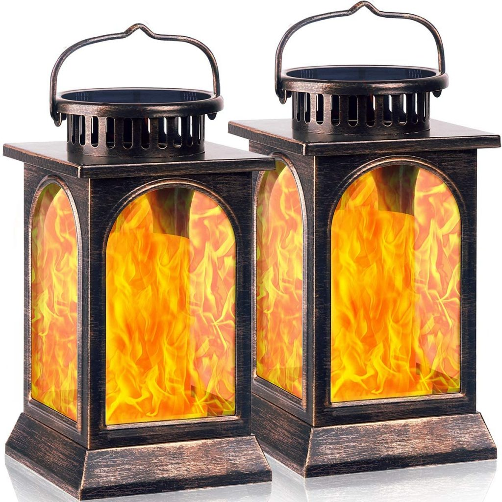 Outdoor Metal Solar Lanterns